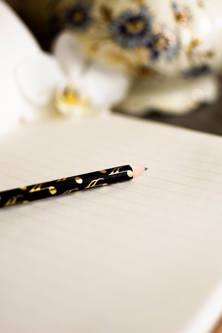 Gedankenbuch Stift
