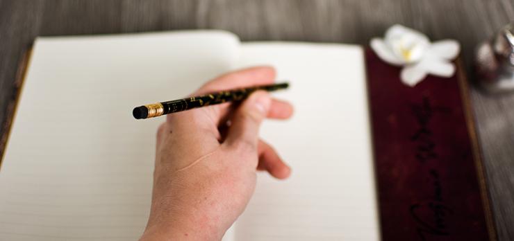 Gedankenbuch Writing