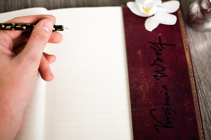 Gedankenbuch schreiben