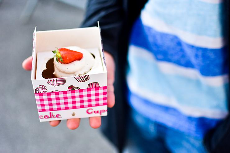 Erdbeer Cupcake 2