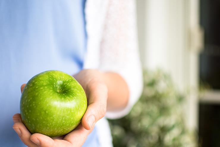 Apfel Ernährungsumstellung
