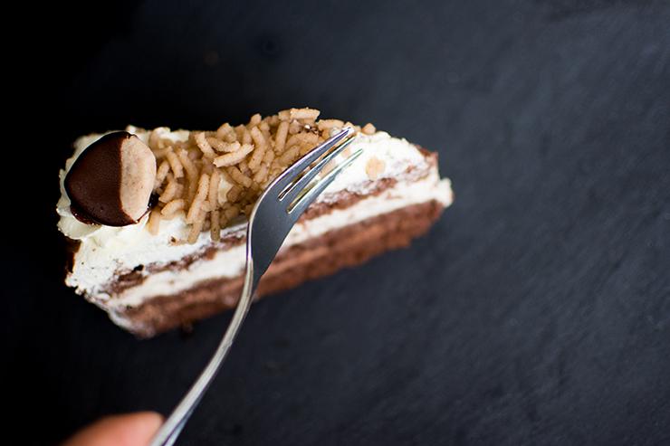 Kastanien-Creme-Torte