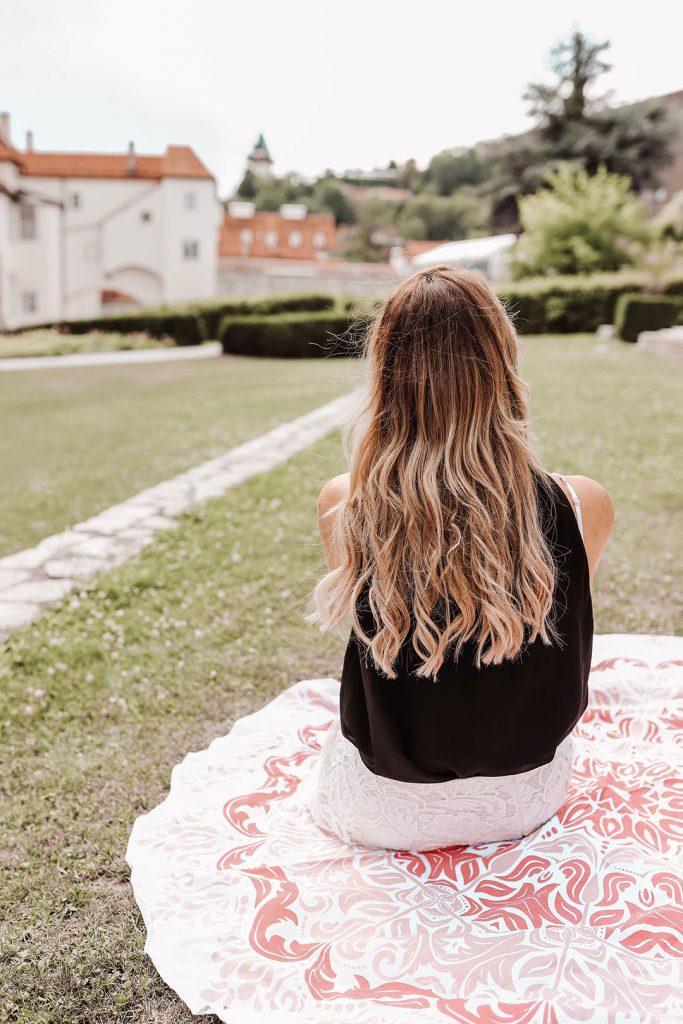 Lange Haare mit Tape In Extensions