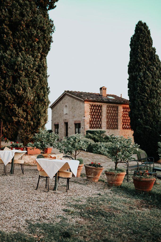 Castel di Pugna in der Toskana